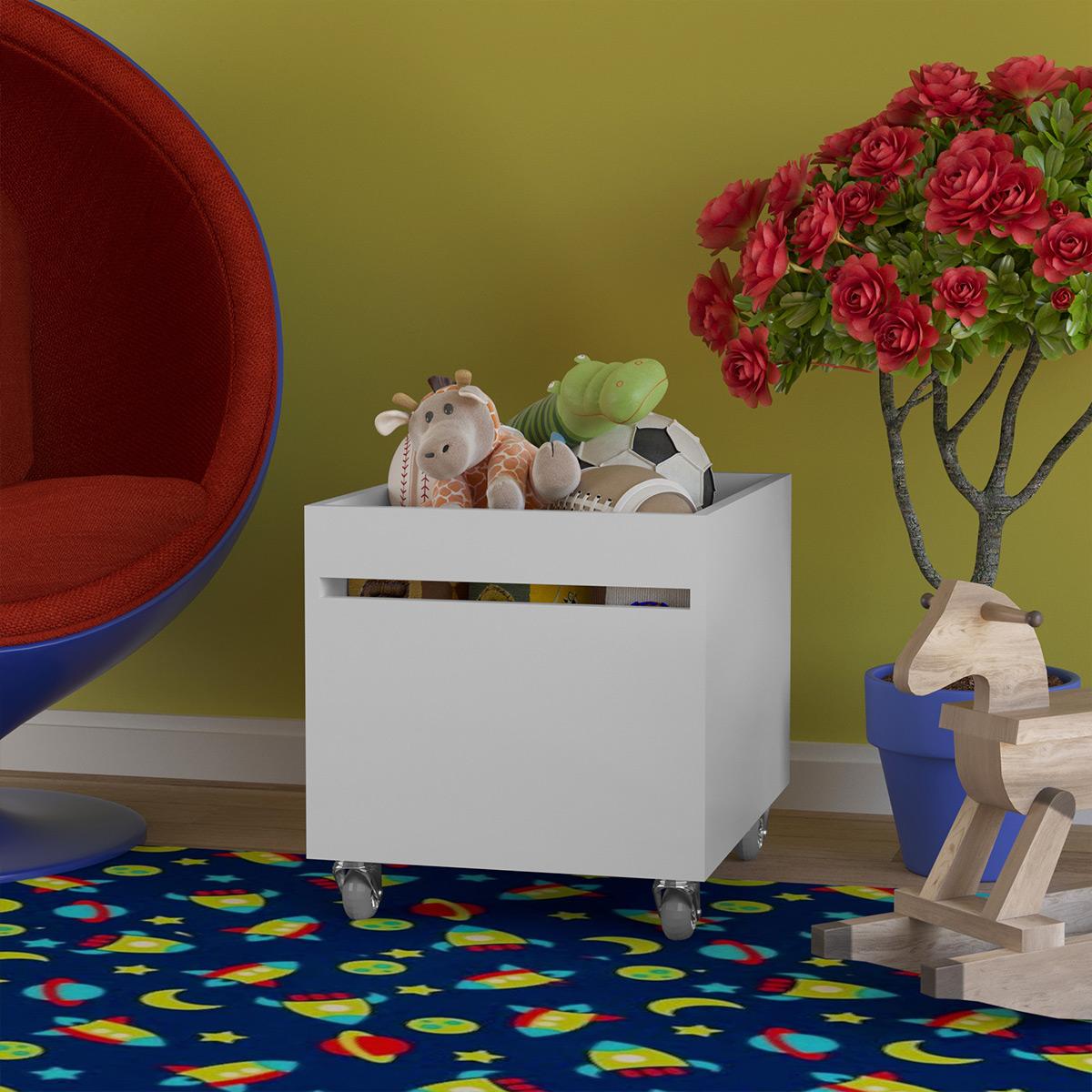 Baú Multiuso Para Brinquedos