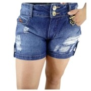 Bermuda Feminina Jeans Maragata