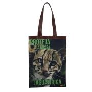 Bolsa Ecobag Tecido 100% Pet Jaguatirica