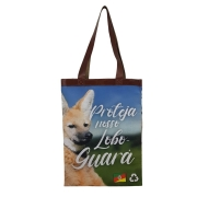 Bolsa Ecobag Tecido 100% Pet Lobo Guará