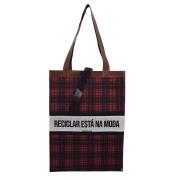 Bolsa Ecobag Tecido 100% Pet Reciclar.