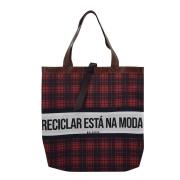 Bolsa Ecobag Tecido 100% Pet Reciclar Grande.