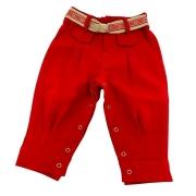 Bombacha Infantil M Anita Kids Vermelha