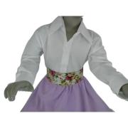Camisa Feminina Infantil Lisa