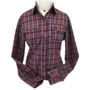 Camisa Feminina Xadrez Criações Darvami