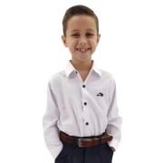 Camisa Masculina Infantil Bordada