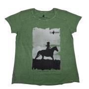 Camiseta T-shirt Estonada Verde