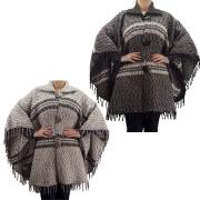 Capa Feminina 100% Lã Natural