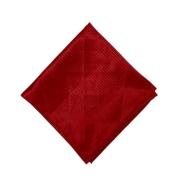 Lenço Carijó Acetinado Médio Vermelho/Vermelho