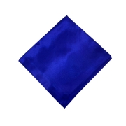 Lenço Cetim Grande Azul