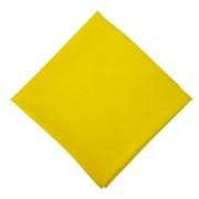 Lenço de Seda Grande Criações Darvami Amarelo