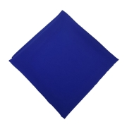 Lenço de Seda Grande Criações Darvami Azul