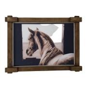 Quadro Tela Digitalizado - Cavalo Cocheira