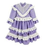 Vestido de Prenda 01 Ano Criações Darvami''