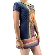 Vestido Feminino Estampado Maragata