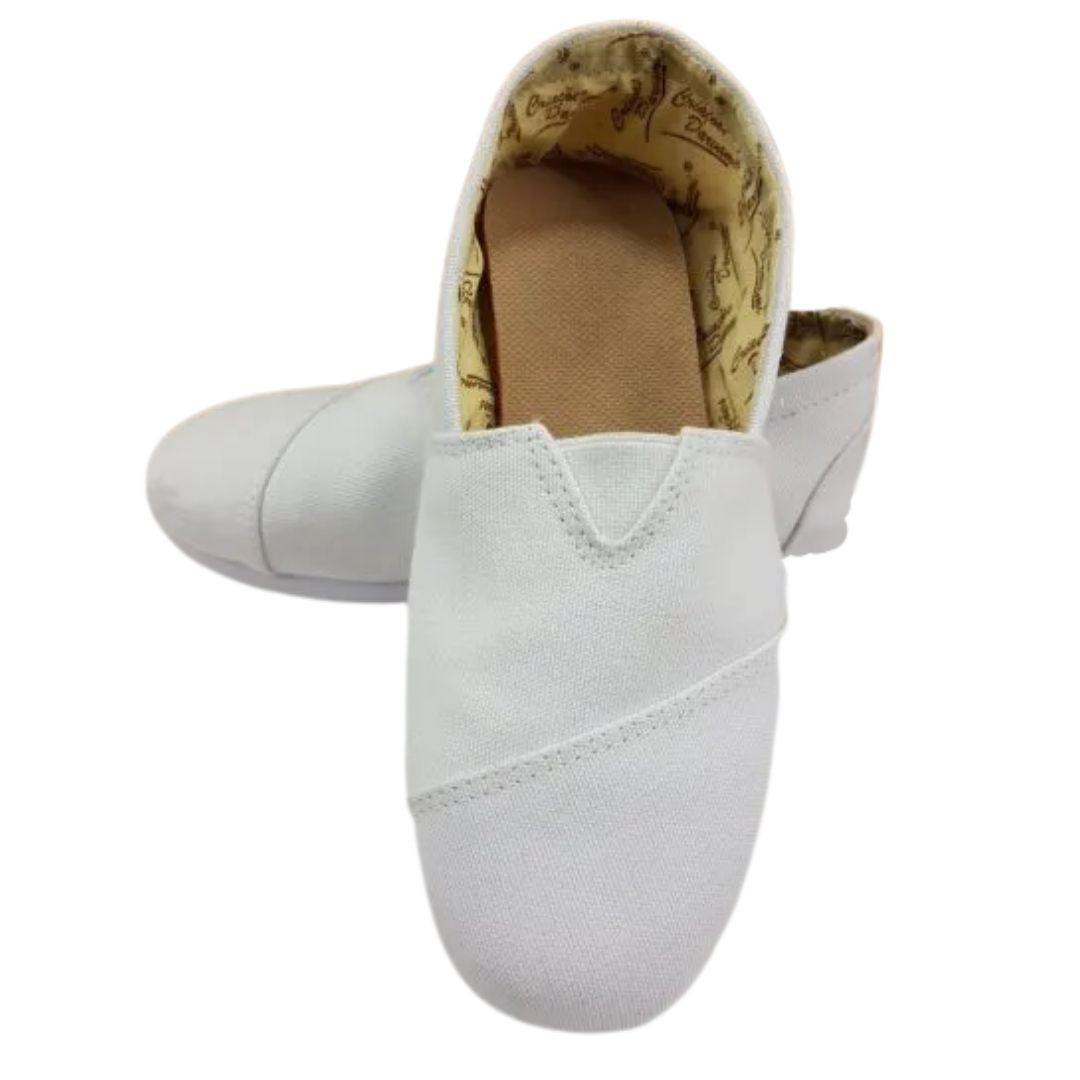 Alpargata Confortável Branca Criações Darvami