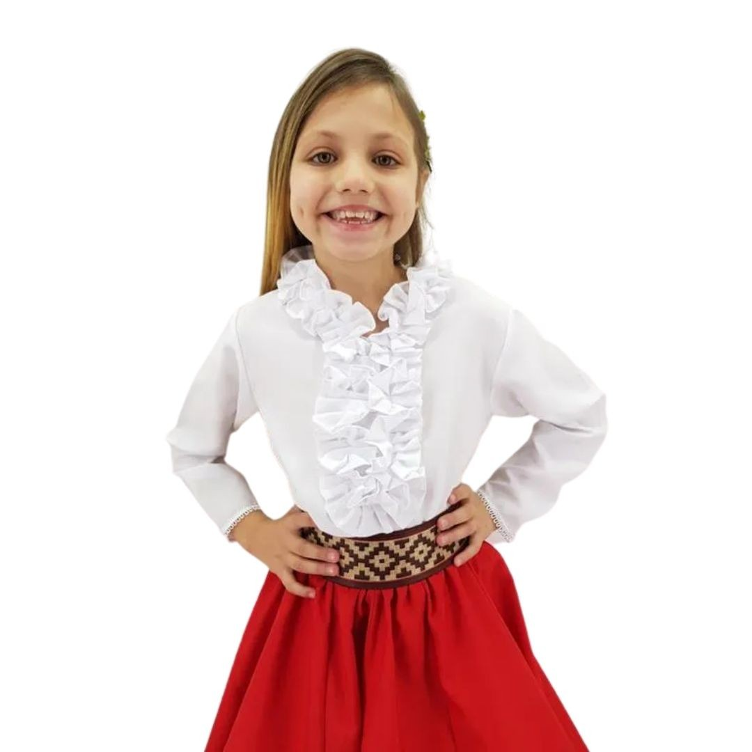 Blusa Feminina Infantil Picanço