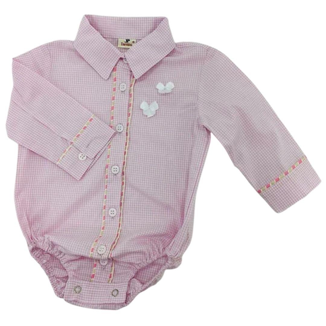Body Infantil Anita Kids Criações Darvami P Rosa