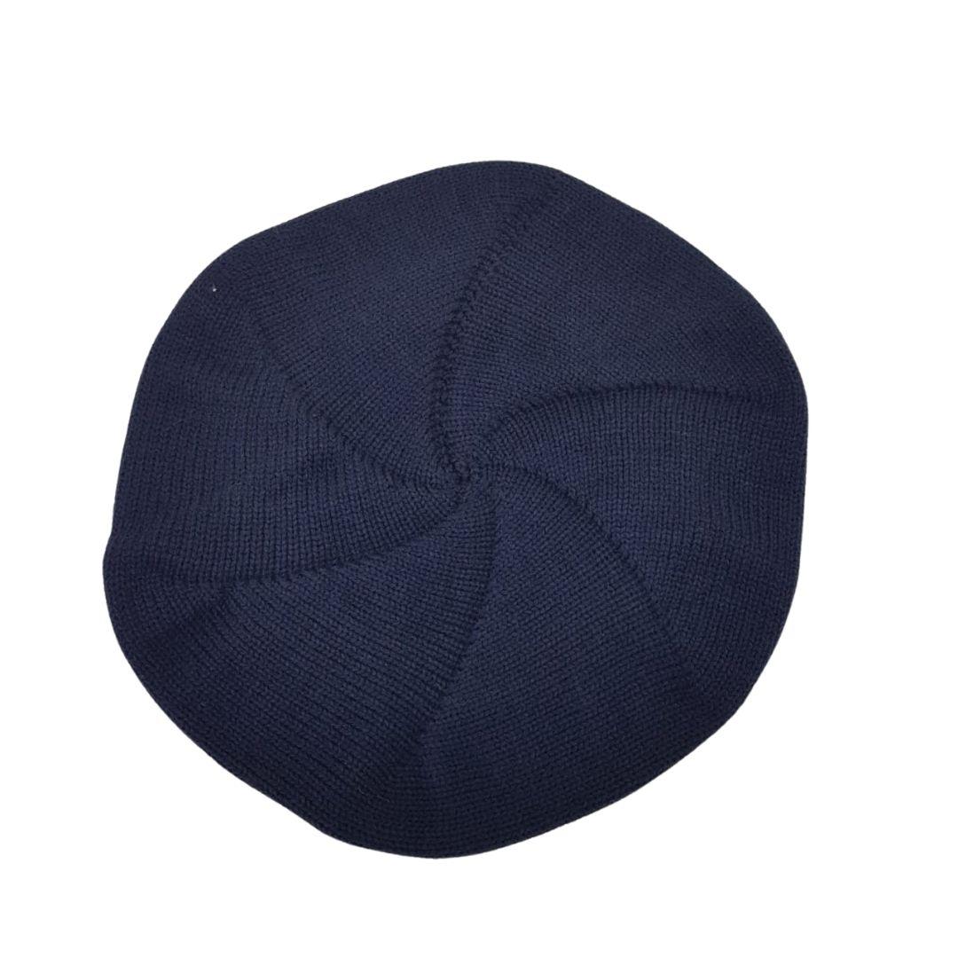 Boina Infantil Picanço Tamanho: P – 06 à 12 meses Azul Marinho