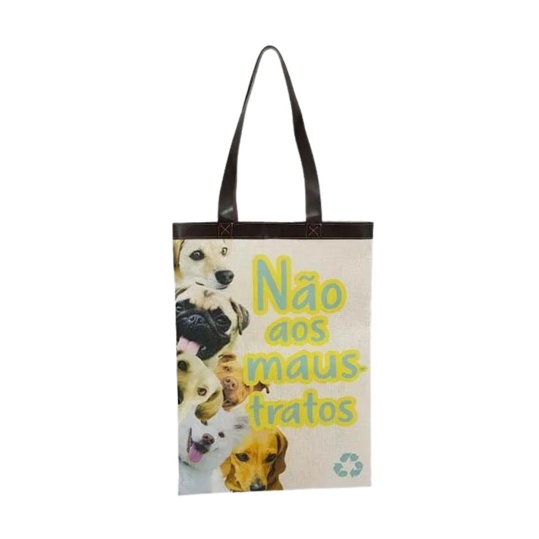 Bolsa Ecobag Tecido 100% Pet Dog
