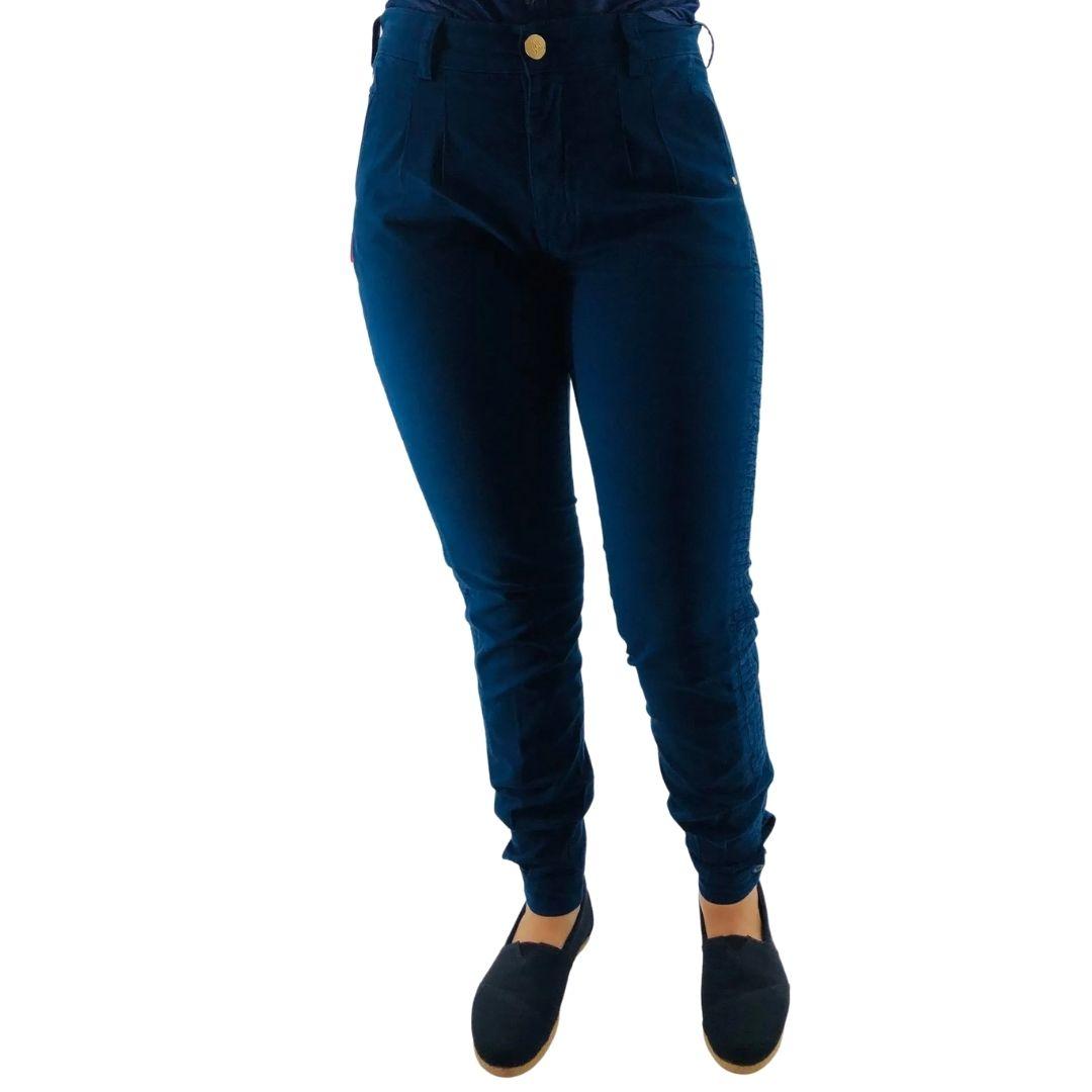 Bombacha Feminina Pampa Sul Jeans c/Favo