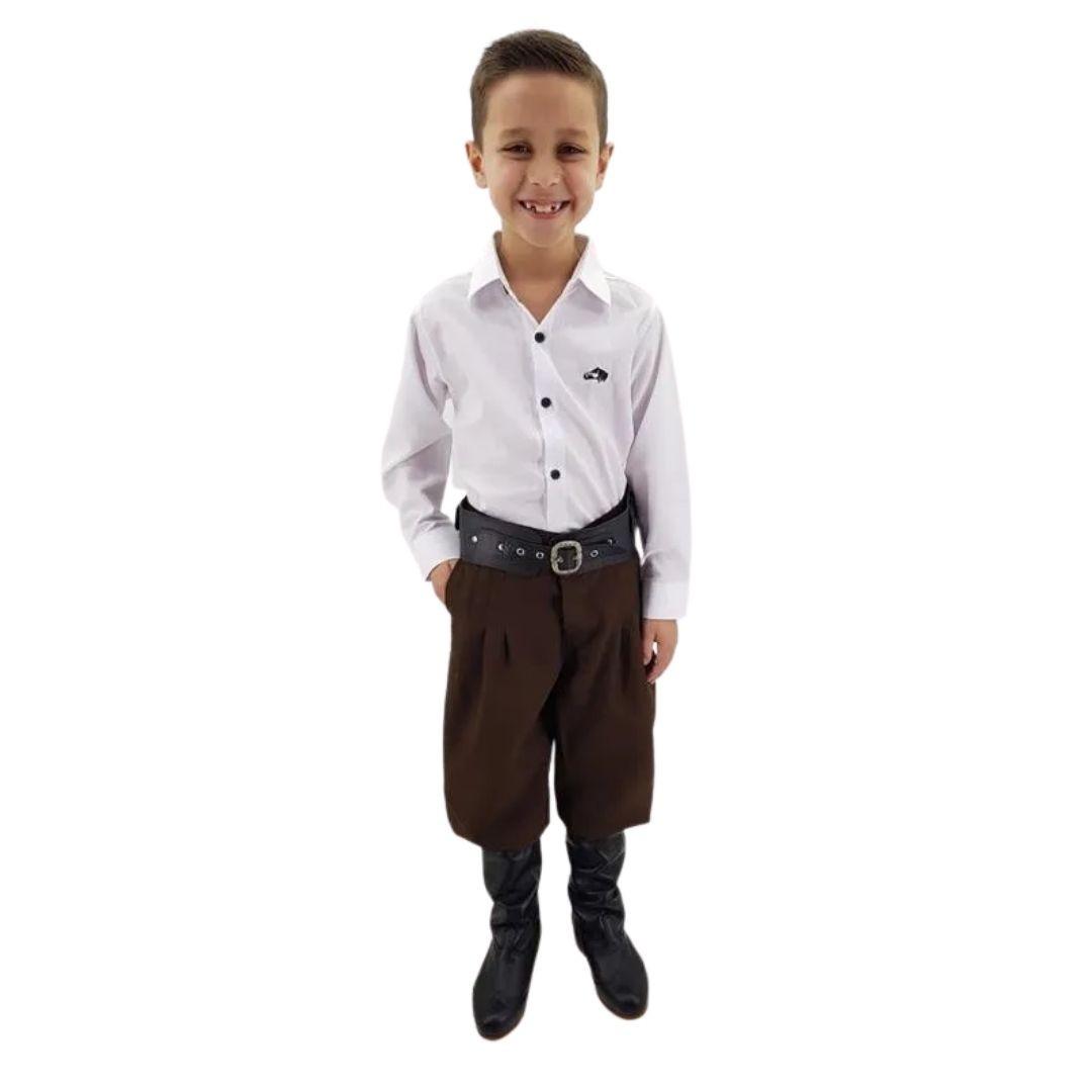 Bombacha Infantil Favo Criações Darvami-Tamanho 01 á 14 Anos