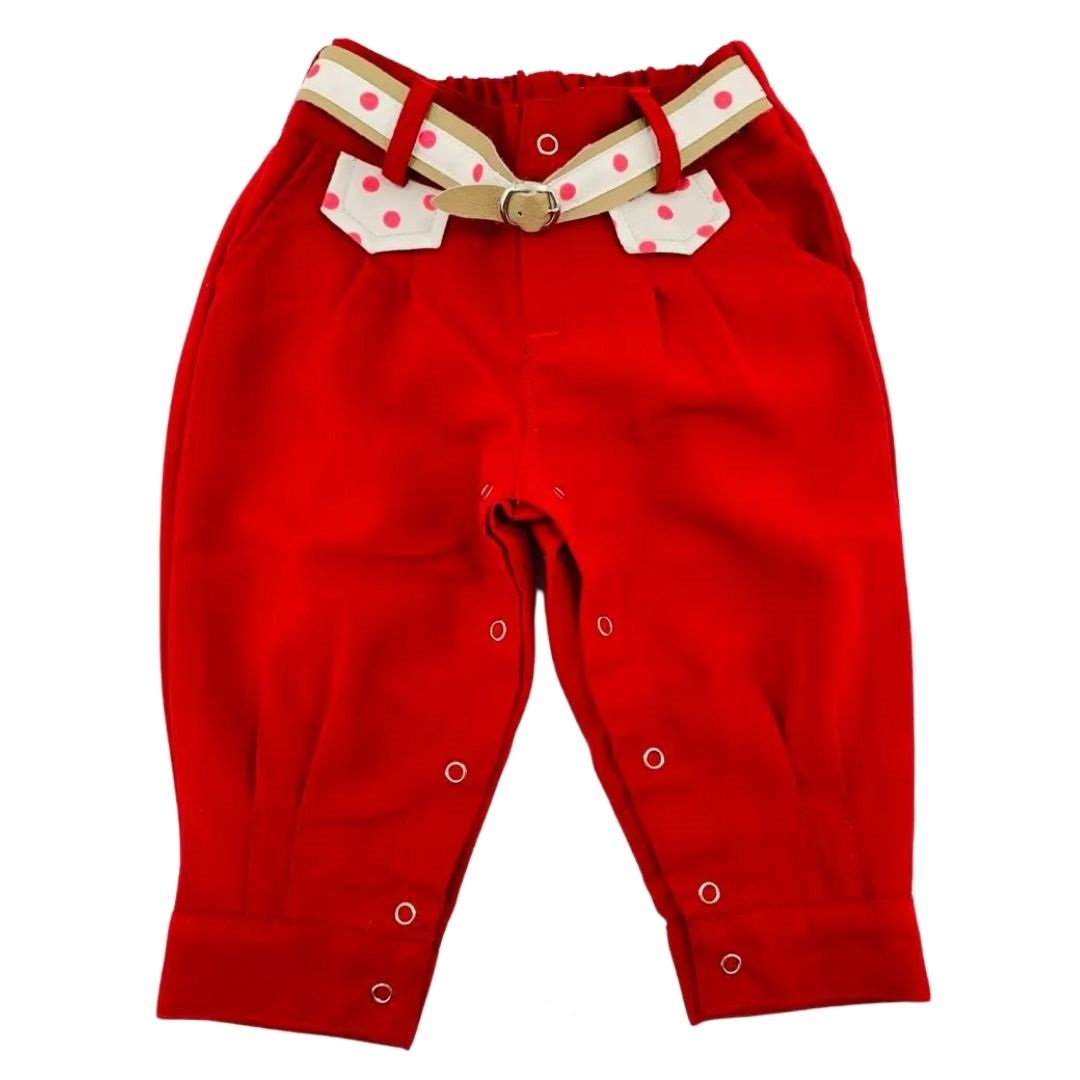 Bombacha Infantil G Anita Kids Vermelha