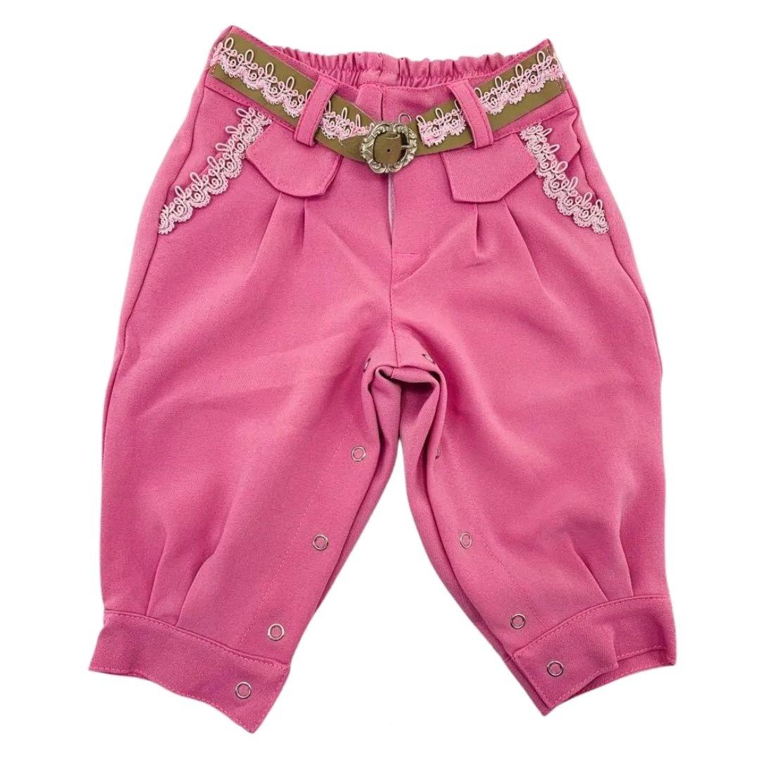 Bombacha Infantil Anita Kids Criações Darvami M Pink
