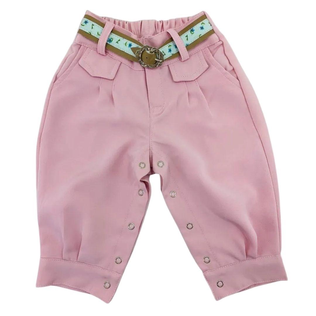 Bombacha Infantil Anita Kids Criações Darvami M Rosa