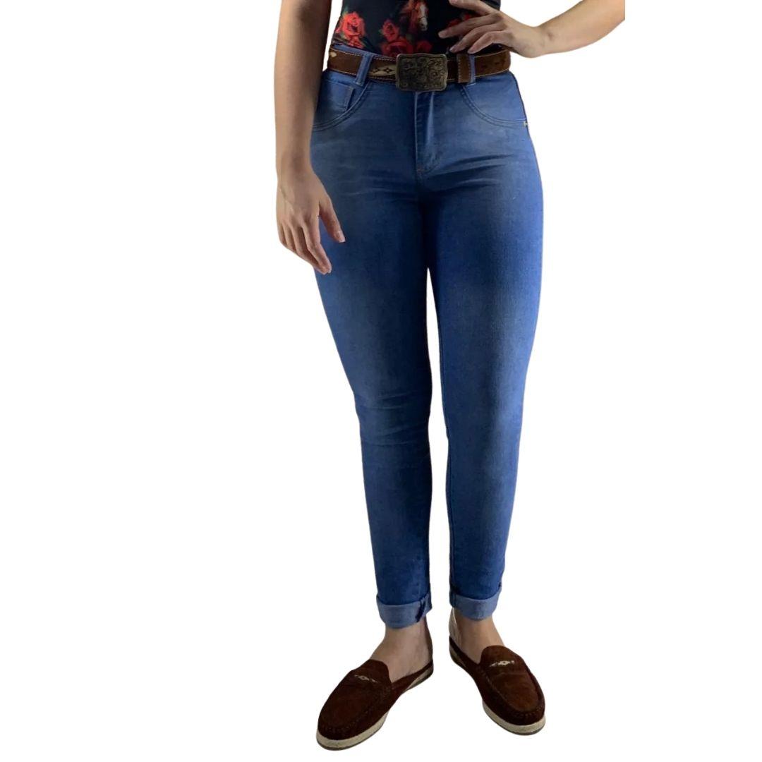 Calça Feminina Jeans Claro