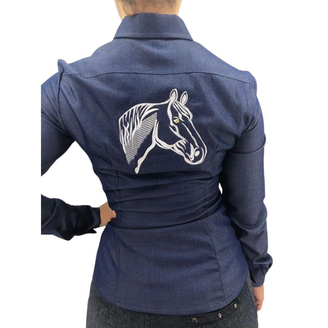 Camisa Feminina Cavalo Criações Darvami