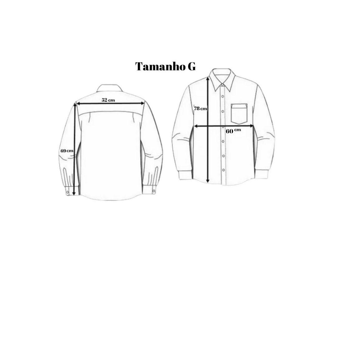 Camisa MTG 'Viva a Nossa Tradição' Branca