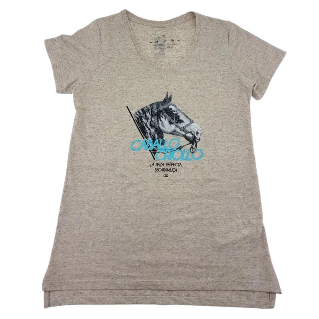 Camiseta Feminina Caballo Escaramuça