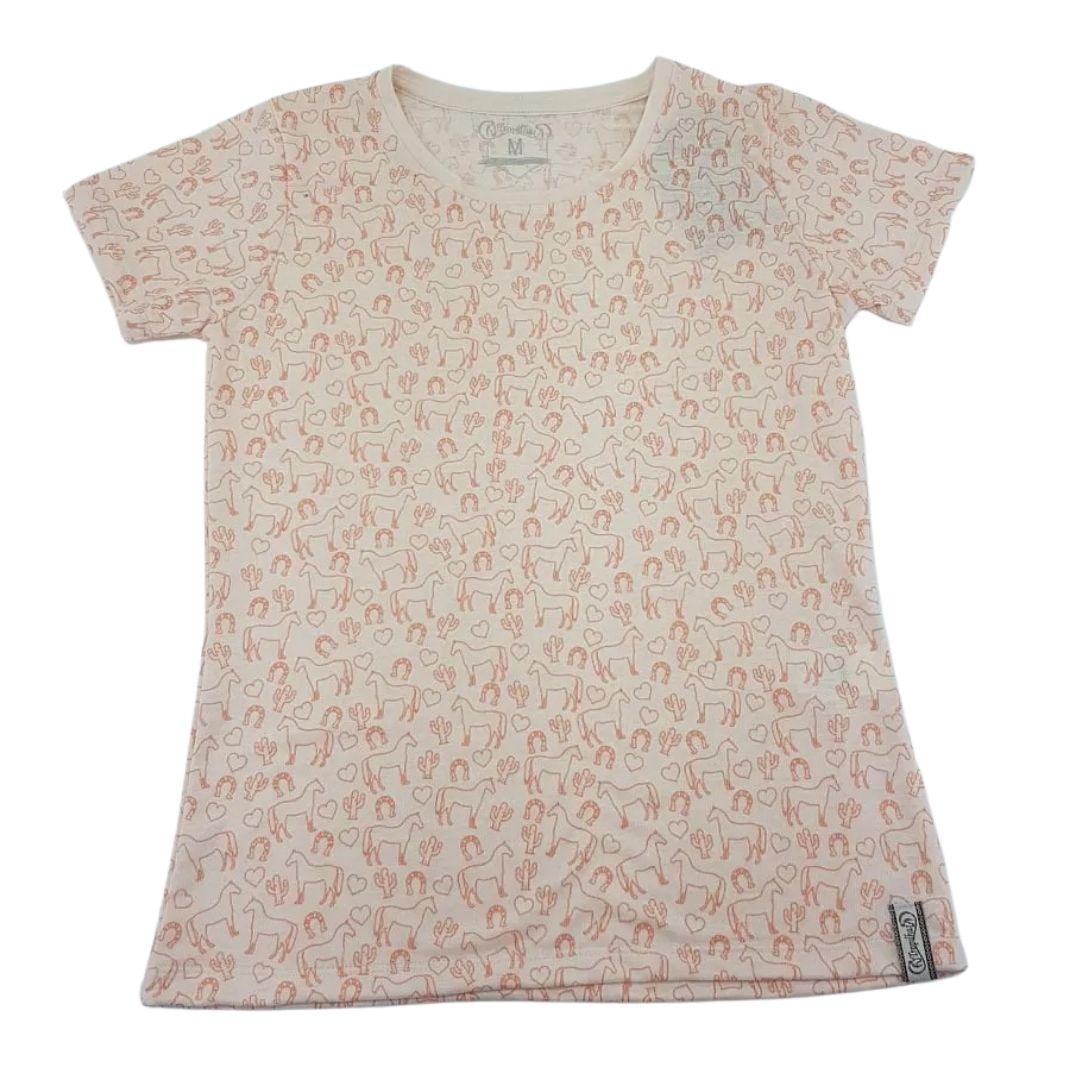 Camiseta Feminina Cavalo Sinuelo