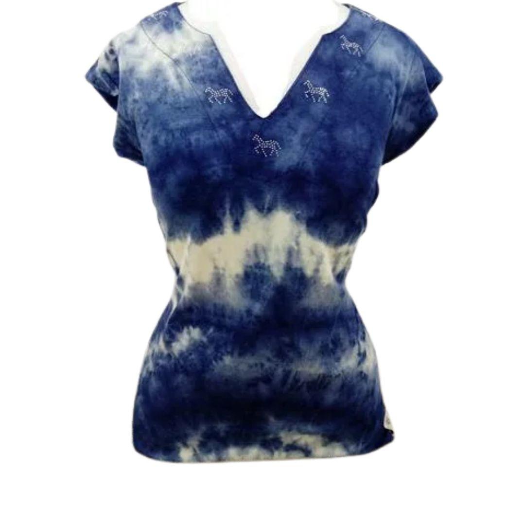 Camiseta Feminina Jeans Sinuelo