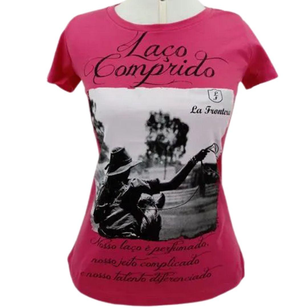 Camiseta Feminina La Frontera