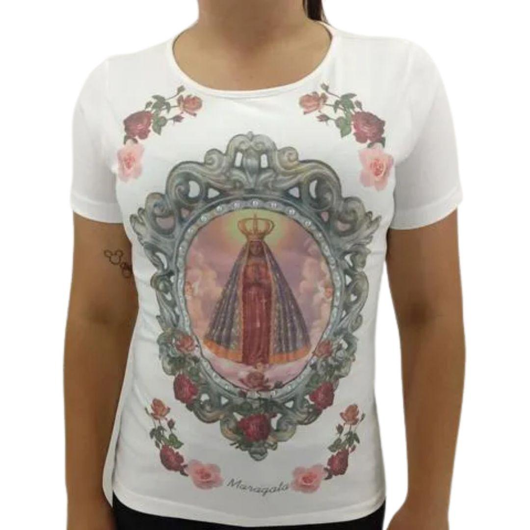 Camiseta Feminina N.Sra. Aparecida Maragata