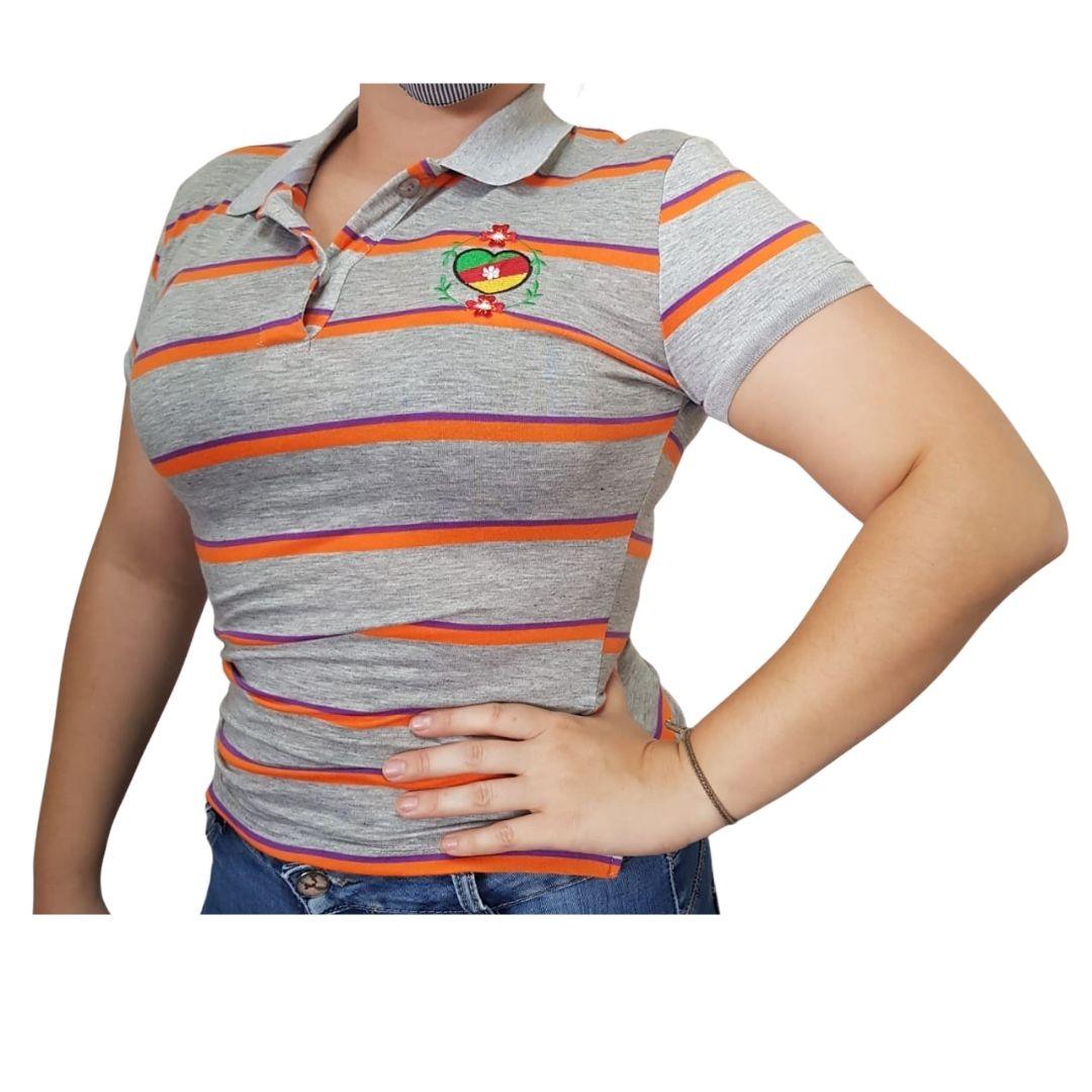 Camiseta Feminina Polo