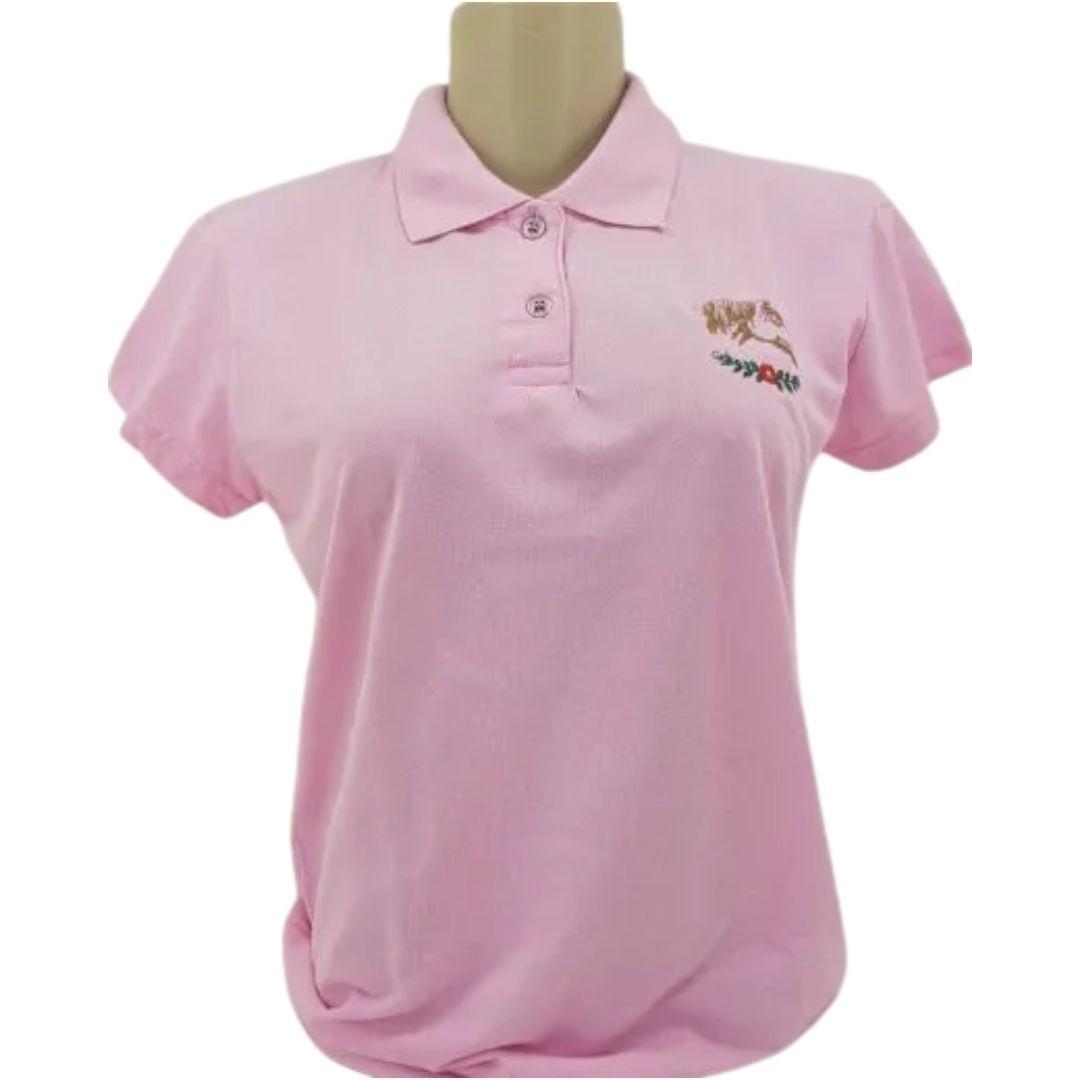Camiseta Feminina Polo Criações Darvami