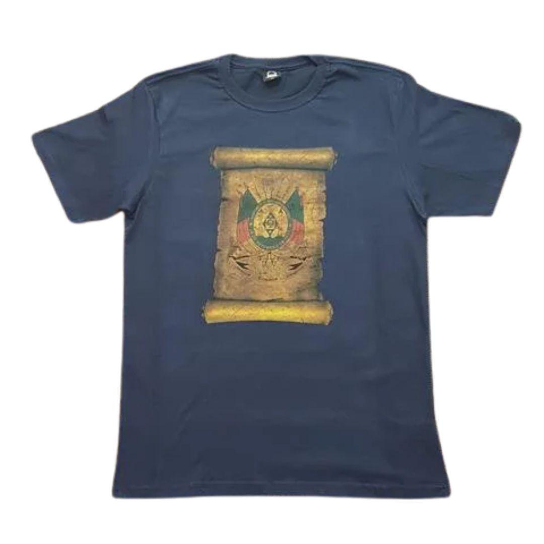 Camiseta Masculina Brasão RGS Patria Pampa