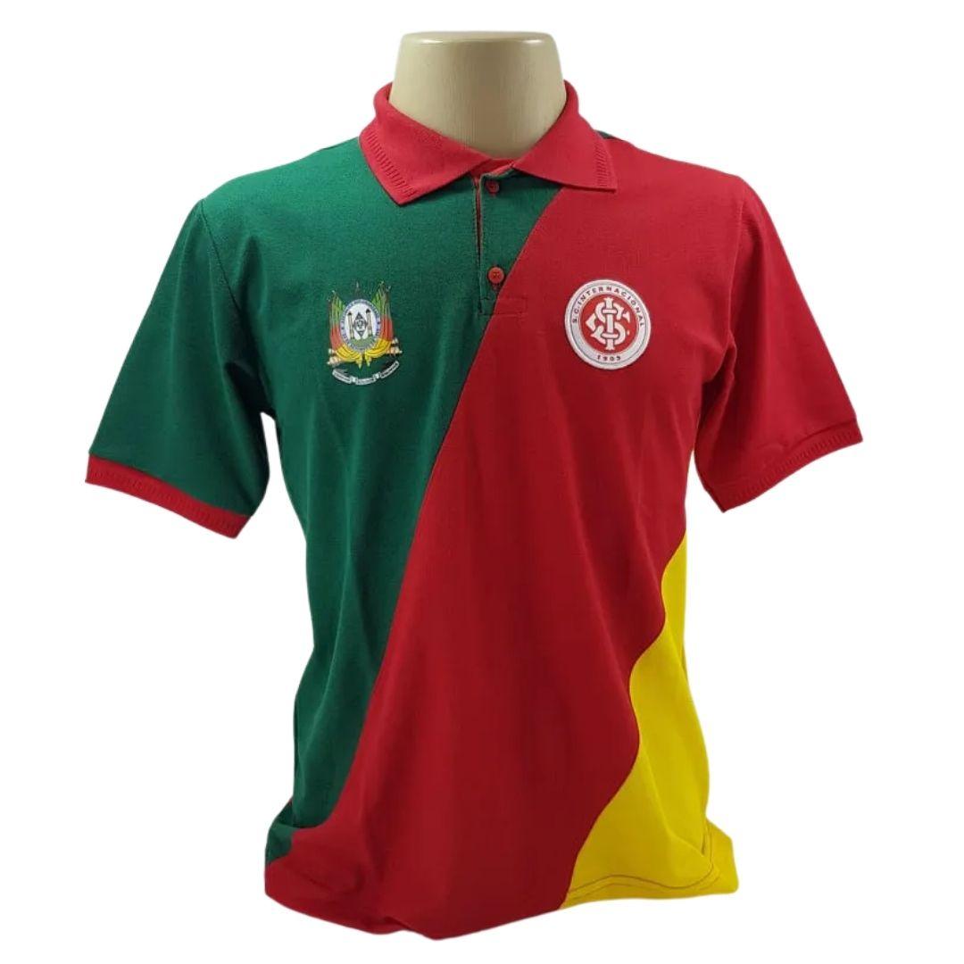 Camiseta Polo Masculina Inter/Grêmio Oldoni