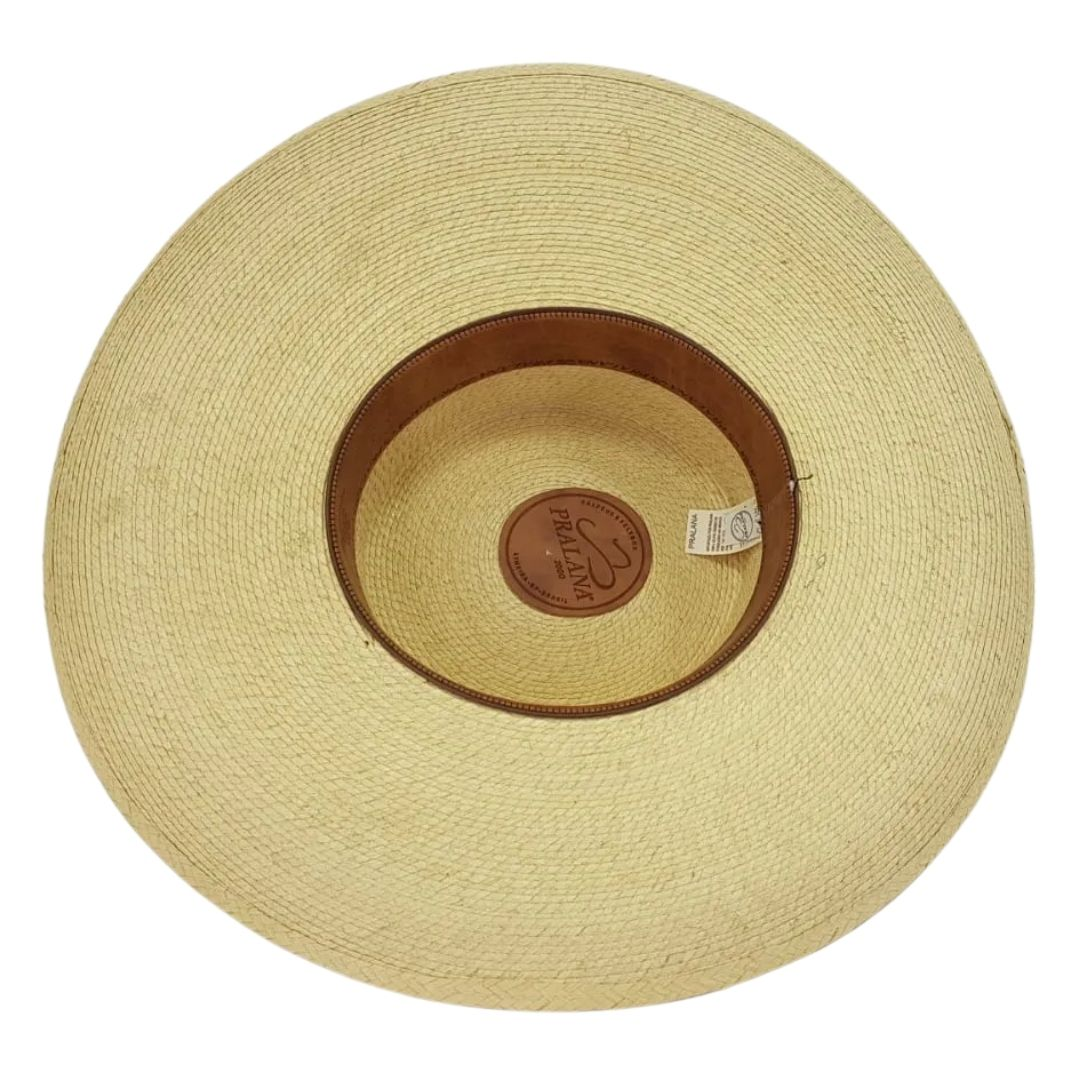 Chapéu Palha Pralana Aba 12cm