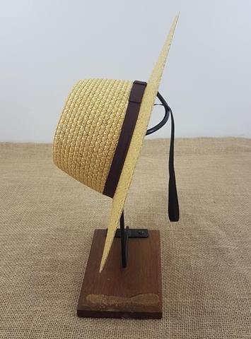 Chapéu Palha Rio Branco Aba 10cm
