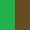 Verde/Marrom