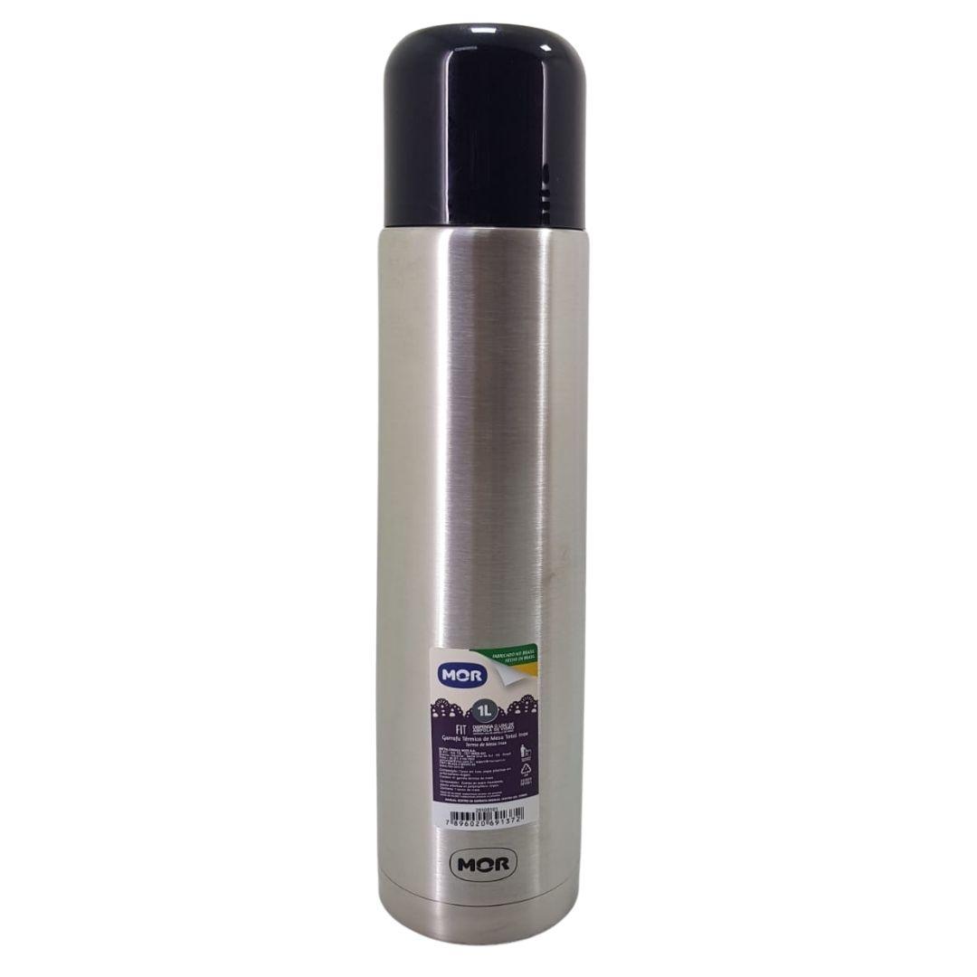 Garrafa Mor 1 Litro iNOX