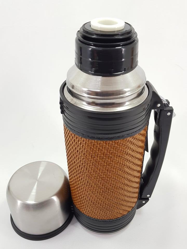Garrafa térmica inox 1L'