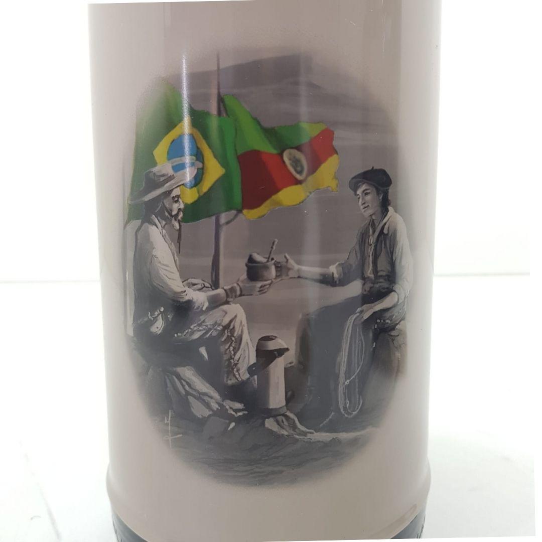 Garrafa Térmica Magic Pump 1L Gaúcha