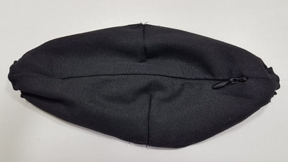 Máscara Algodão Zipper Frontal