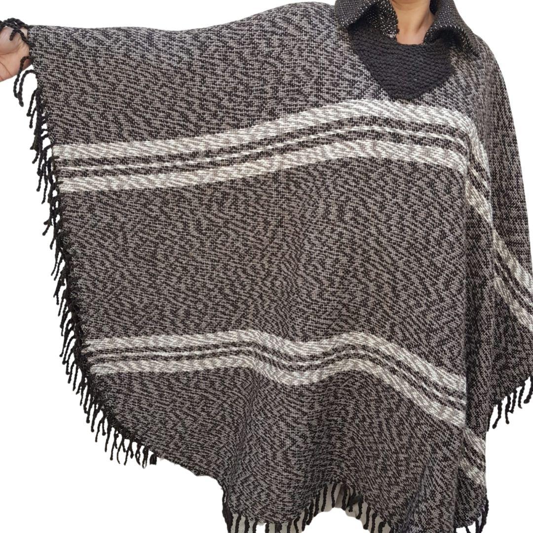 Ponche Lã de Ovelha