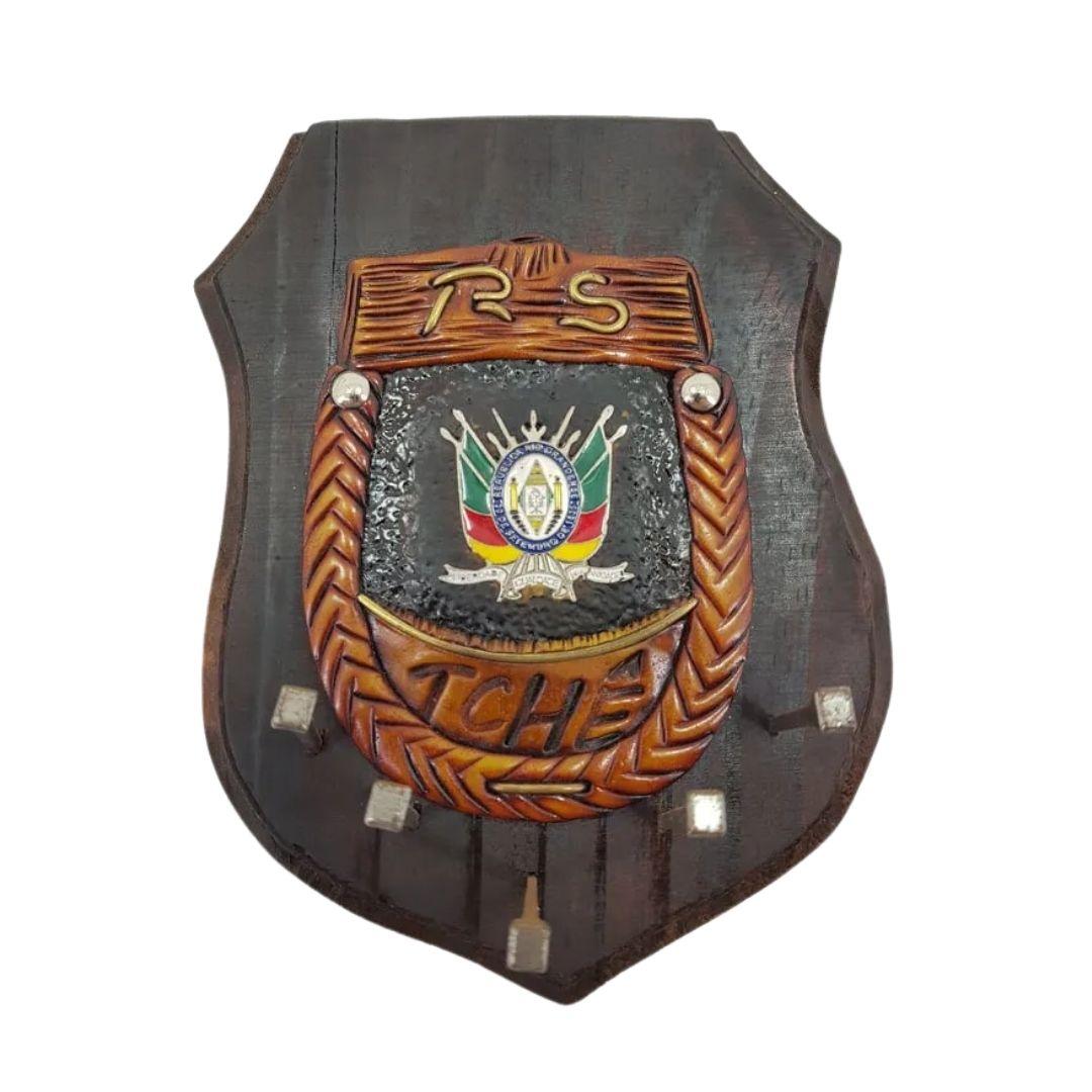 Porta Chave Brasão TCHÊ